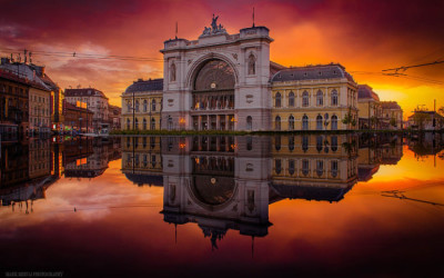 Beautiful photographs captured in Budapest over five years