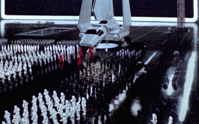 THE MATTE PAINTINGS OF THE ORIGINAL 'STAR WARS' TRILOGY