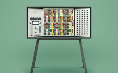 Vintage Computers Photographed With Modern-Day Art Direction