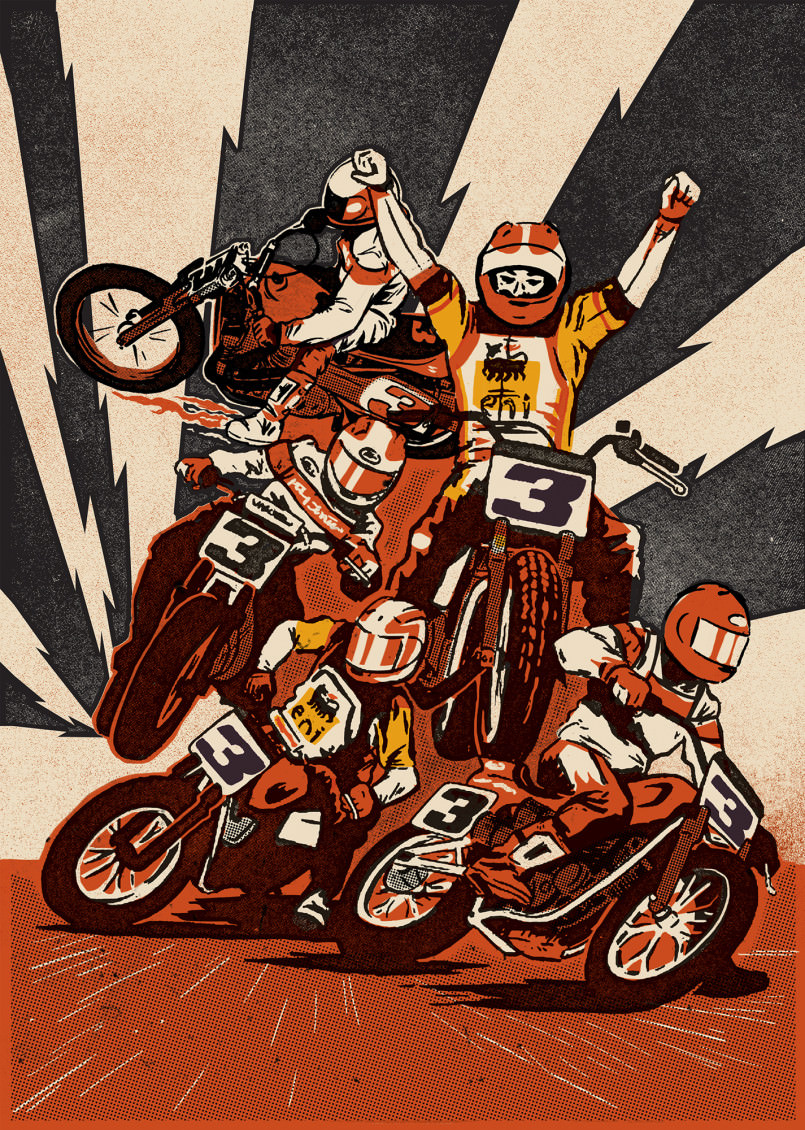 motorcycle ryan artists motorcycles quickfall roth ed fartsy artsy daddy seen never before kopp interview columnm via