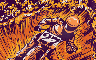 Here's Motorcycle Art Like You Have Never Seen Before