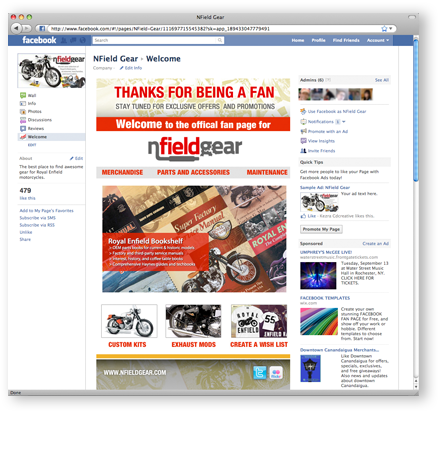NField Gear Facebook Page